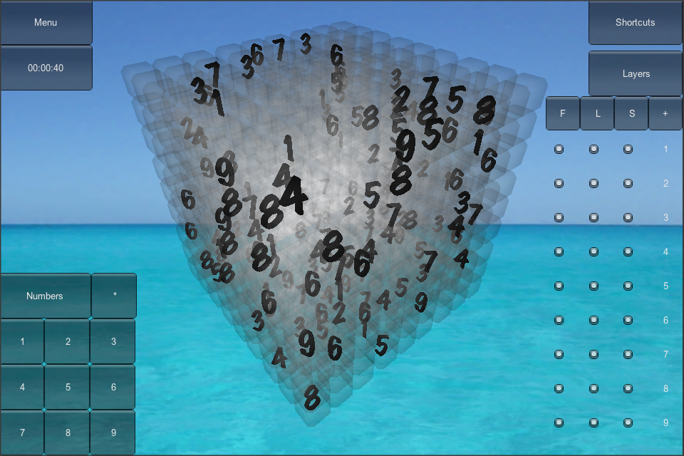 Screenshot Real Sudoku3D Pro Mobile